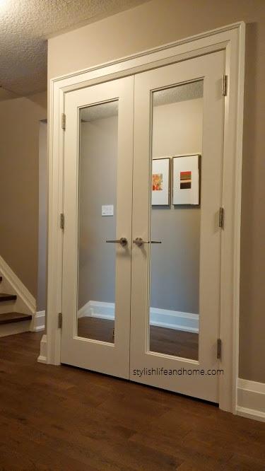 DIY Contemporary Door Hardware U0026 Wood Trim Upgrade