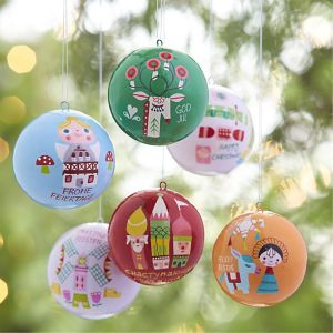 crate and barrel christmas ornaments