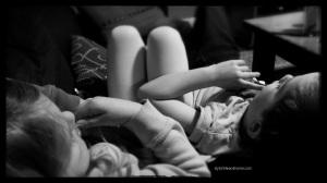 modern kid photography mommas double snuggle