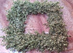 wreath bare