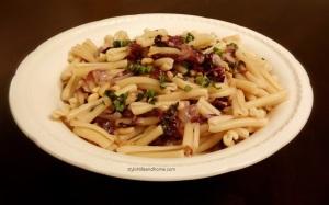 another pasta radicchio basil pine nuts
