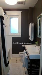 contemporary bathroom iron mountain benjamin moore