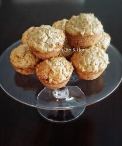 oatmeal muffins apple banana wheat germ