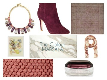 PANTONE marsala shoes jewelry elte rugs west elm pillows