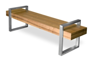 return bench style garage