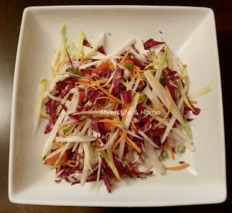 side salad radicchio belgin endive green onion carrot2