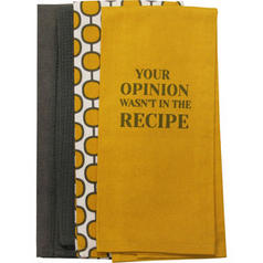your opinion tea towel set urban barn pop art accessories