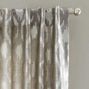 brushstroke ogee jacquard drape west elm modern farmhouse