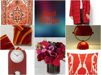 FotorCreated red rouge finds accessories floral design decor stylish contemporary bold whimsy