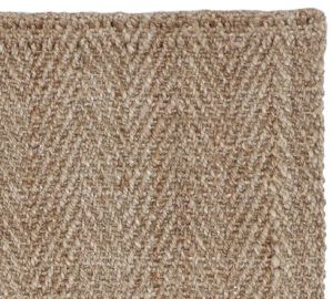owen herringbone jute rug pottery barn neutral textural decor family room modern farmhouse