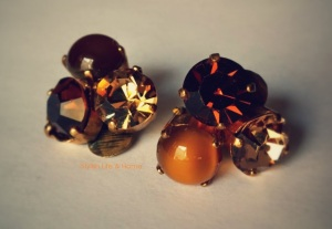 vintage clip on earrings jewels accessories fashion old is new