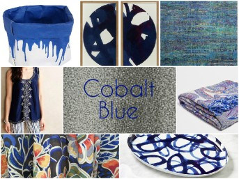 cobalt blue fashion home decor stylish trendy finds