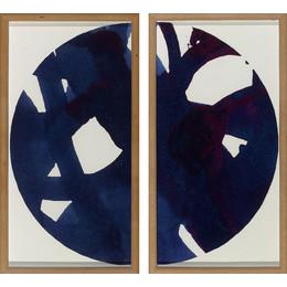 Malta+Blue+Globe+Diptych dwell studio