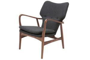 patrik lounge arm chair casalife mid century modern stylish contemporary