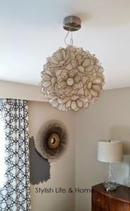 pendant light master interior design house home capiz shell vintage
