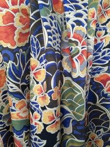 zengardenporcelainrple400 fabric tonic living floral cobalt bule