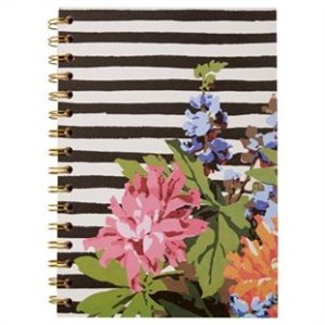 black stripe and peonies journal chapters indigo