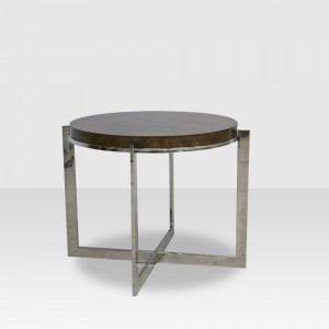 bradley round end table elte deco inspired furniture stylish house home