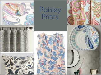 contemporary paisley prints fashion house home redesign