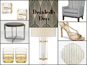 FotorCreated art deco inspired finds furniture home accessories tabletop jewelry fashion
