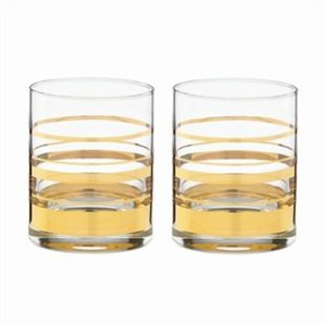 Hampton streed double old fashioned glasses kate spade deco inspired glassware tabletop home decor chapters indigo