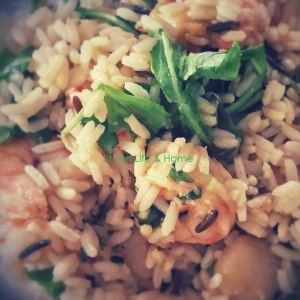 grilled shrimp and scallops with wild rice and arugula recipes dinner easy dinner