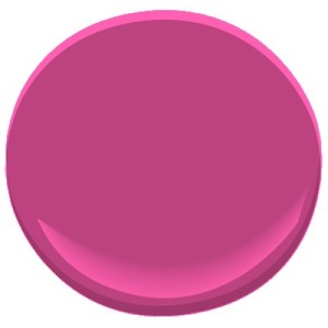 2077-30 benjamin moore hot lips stylish contemporary bold whimsical pink paint