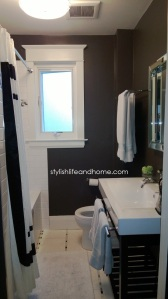 contemporary bathroom iron mountain benjamin moore